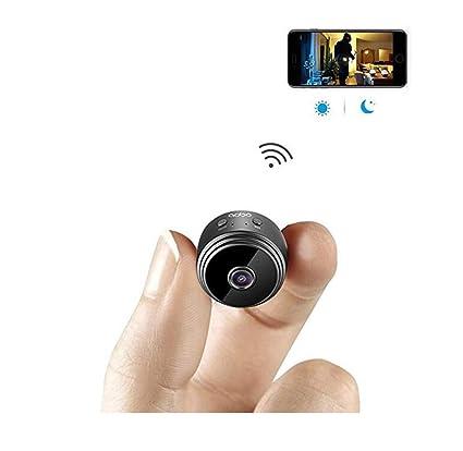Mini Cámara Espía Wifi Cámara Oculta Wireless HD 1080P Cámara De Seguridad Cámaras De Seguridad Espía ...