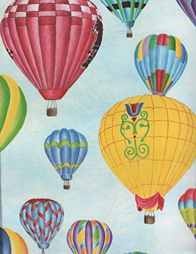 Hot Air Balloons Tissue Wrapping Paper-20 Sheets
