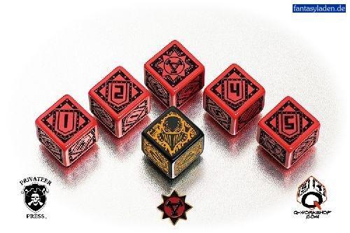 Warmachine Khador Faction Dice (Set of 6 Dice) - Faction Dice