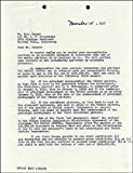 Gary Cooper - Document Signed 11/15/1957