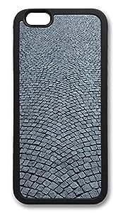 iPhone 6 Plus Cases, Cobblestone Road Durable Soft Slim TPU Case Cover for iPhone 6 Plus 5.5 inch Screen (Does NOT fit iPhone 5 5S 5C 4 4s or iPhone 6 4.7 inch screen) - TPU Black