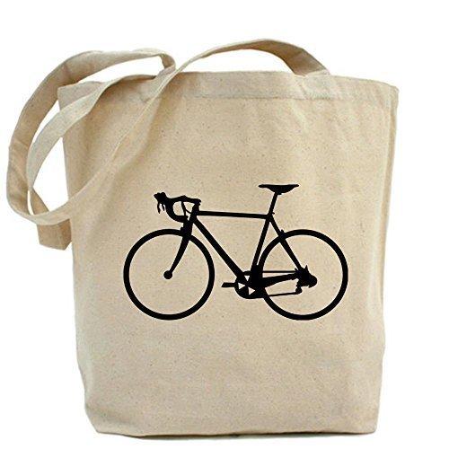 CafePress–Design Racer nero borsa per bicicletta–Standard da CafePress