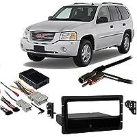 Fits GMC Envoy 2002-2009 Single DIN Aftermarket Harness Radio Install Dash Kit