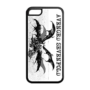 Masq Unique Custom TPU Rubber iPhone 5C Case Cover - A7X Avenged Sevenfold