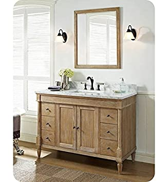fairmont designs 142v48 rustic chic 48 inch vanity in weathered oak