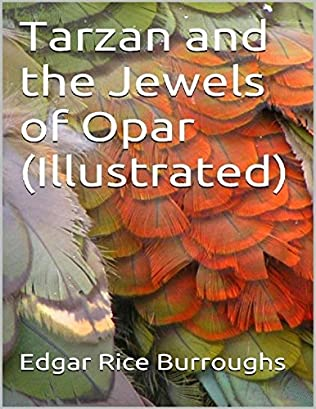 book cover of Tarzan and the Jewels of Opar