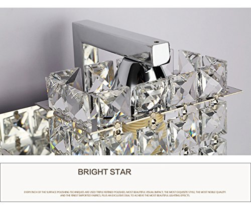 Jorunhe Modern Crystal LED Wall Lights Aisle/Bedside/Bar lights Wall Sconce by Jorunhe (Image #5)