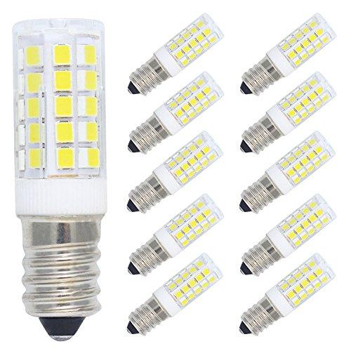 10 Pack E14 LED Light Bulb 5W Ampoule LED 44 SMD 2835 LEDs Faible Consommation 400LM Blanc Froid 6000K Lampe Bulb AC 220-240V