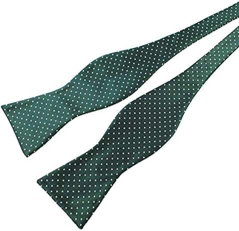 Alizeebridal Fashionable Stripe Plaid Polka Dot Jacquard Self Bow Tie