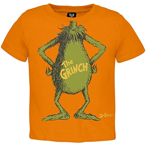 [Dr. Seuss - I Am The Grinch Toddler Costume T-Shirt - 2T] (The Grinch Costumes)