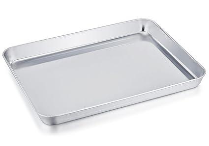 teamfar tostadora de acero inoxidable horno bandeja de pan horno. Profesional de reemplazo, compacto 8