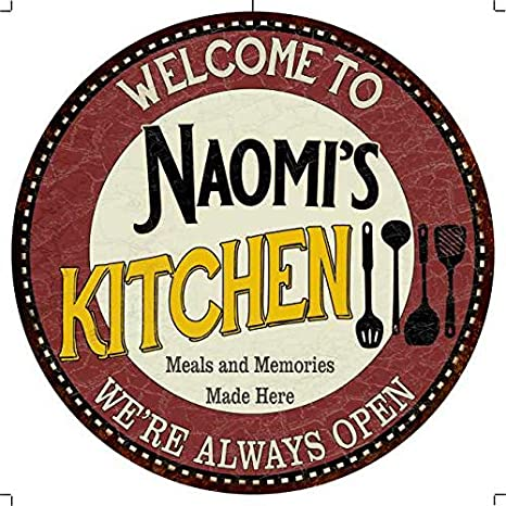 Amazon Com Chico Creek Signs Naomi S Kitchen 12 Round
