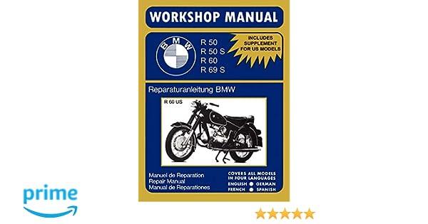 BMW Motorcycles Workshop Manual R50 R50S R60 R69S: Amazon.es: Floyd Clymer: Libros en idiomas extranjeros