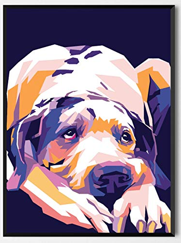 OMG Pop Prints Great Dane Limited Poster Artwork - Professional Wall Art Merchandise (More (8x10)