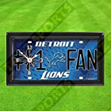 DETROIT LIONS WALL CLOCK - BY TAGZ SPORTS