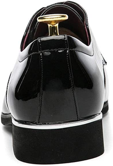 Classic Modern Formal Business Comfortable Mens Shoes MALPYQ Mens Pointed Mens Wedding Shoes