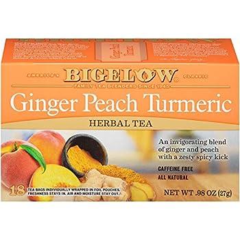Bigelow Ginger Peach Turmeric Tea