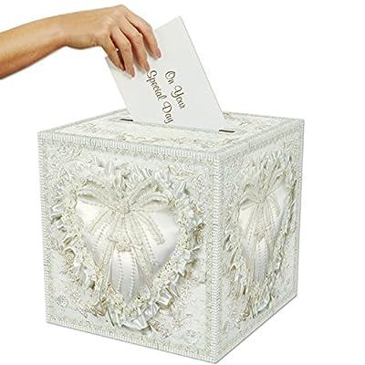 "Beistle 50360 Card Box, 12"" x 12"""