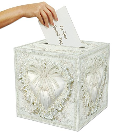 "Beistle 50360 Card Box, 12"" x 12"""