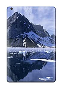 New Mountain Reflections Spitsbergen Nature Other Tpu Skin Case Compatible With Ipad Mini/mini 2