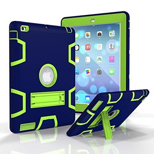 iPad 2 / 3 / 4 Case, Beimu Full-body Heavy Duty Armor Defend