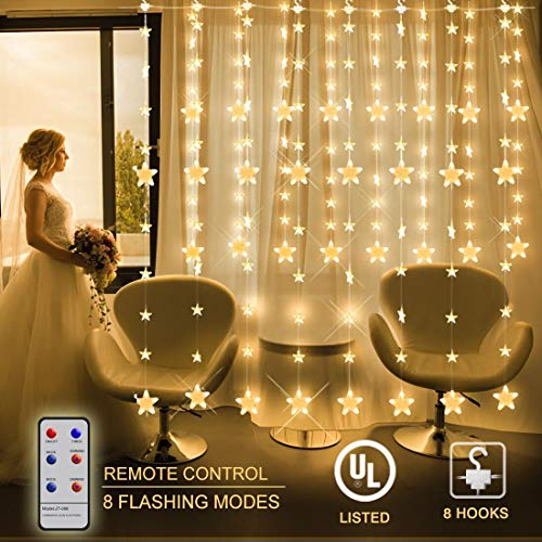 Indoor Led Curtain Lights in US - 8