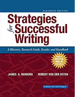 College algebra 5th edition robert f blitzer 9780321559838 strategies for successful writing a rhetoric research guide reader and handbook mla fandeluxe Choice Image