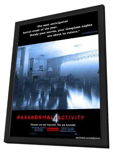 Paranormal Activity 4 (2012) 11 x 17 Movie Poster - Style A - in Deluxe Wood Frame by MG Posters
