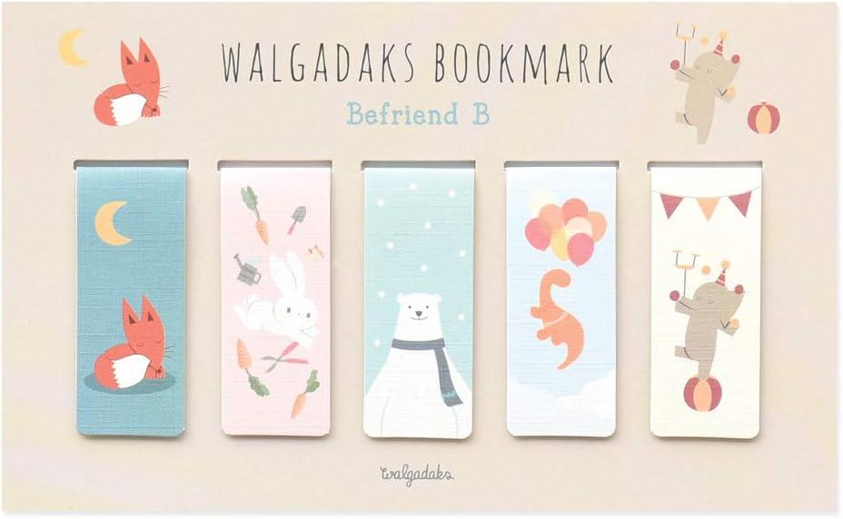 Monolike Magnetic Bookmarks Befriend B, Set of 5