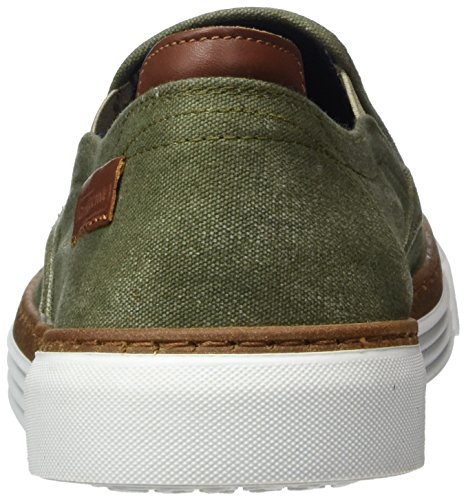 camel active Men's Racket 16 Loafers Green (Army) dIQVk