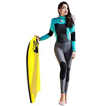 Vêtements La lhwy À Plongée De Femmes Combinaison Surf Crème cAj354LqR