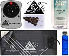 Technical data: *Certified to the standards of underwriter's Laboratories for Water bed Heaters #1445  *18 Gauge power cord  *32-guage Nickel/Copper flexible circuitry  Larger Pad with 64-guage Thermal Fused Duraflex Vinyl  *Premiere Cream Co...
