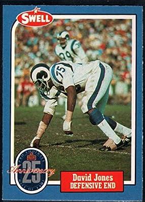 Football NFL 1988 Swell Greats #60 Deacon Jones LA Rams