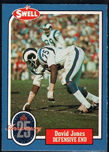 Football NFL 1988 Swell Greats #60 Deacon Jones LA Rams (Deacon Jones Nfl)