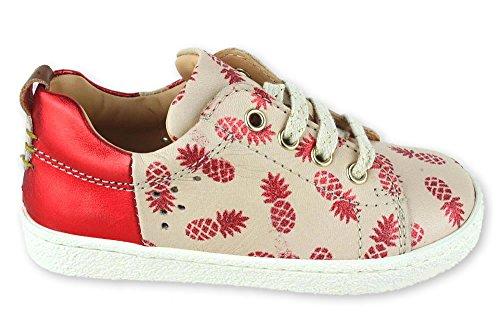 Ocra Ananas Rosa Sneaker Pflanzlich gegerbt