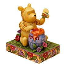 Disney Traditions by Jim Shore 4016589 Classic Winnie the Pooh with Butterfly Figurine 6-Inch