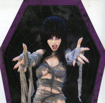 The Black Belles: Elvira's Movie Macabre Theme Song (Pic Disc) Vinyl 7