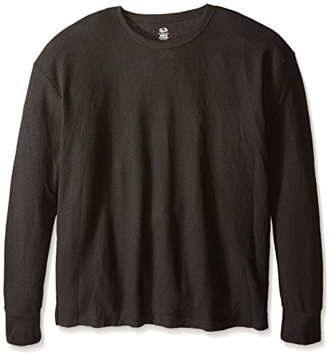 Fruit of the Loom Men's Classics Midweight Waffle Thermal Top, Black Soot, - Shop Black In Men