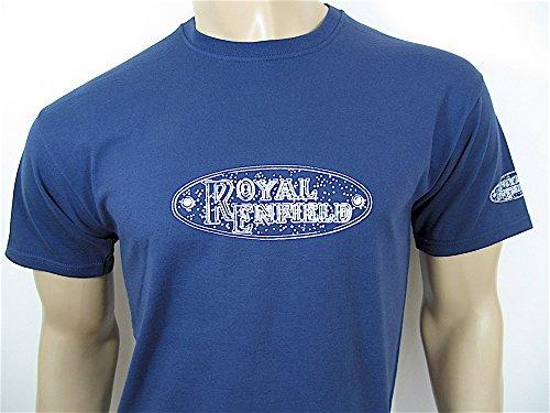 Royal Enfield City T-Shirt in Marineblau–Größe Klein (34bis 91,4cm)–