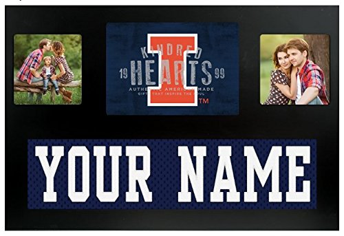 Illinois Fighting Illini NCAA Custom Jersey Nameplate and Logo Picture Frame