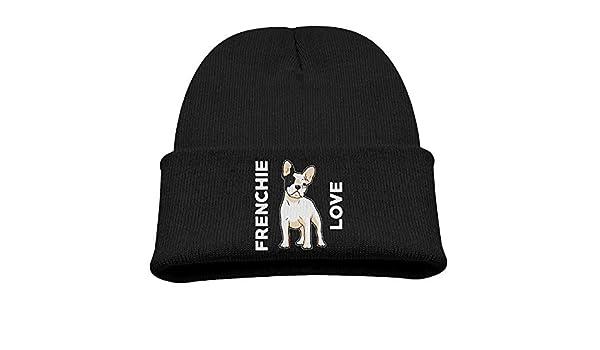I Love My French Bulldog Mens Beanie Cap Skull Cap Winter Warm Knitting Hats.