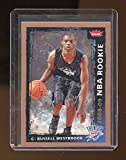 2008-09 Fleer #204 Russell Westbrook Oklahoma City Thunder Rookie Card - Mint Condition Ships in New Holder