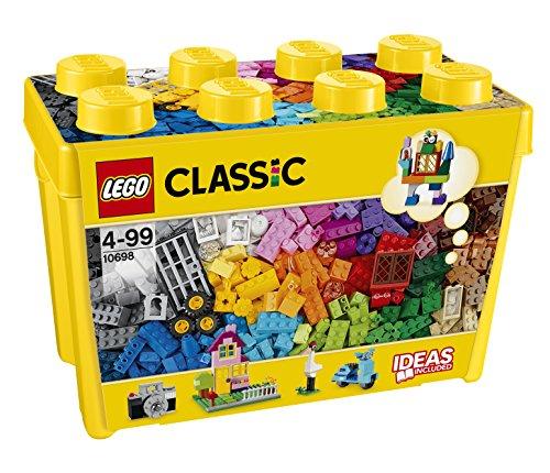 LEGO Classic – Caja de ladrillos creativos grande (10698) Juego de construcción
