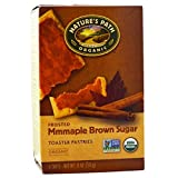 Nature's Path, Organic, Frosted Toaster Pastries, Maple Brown Sugar, 6 Tarts, 52 g Each