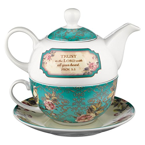 Trust in the Lord Collection Tea-for-One Set – Proverbs 3:5
