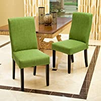 Christopher Knight Home 295184 Corbin Dining Chair (Set of 2), Green
