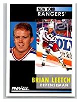 1991-92 Pinnacle #136 Brian Leetch NY Rangers