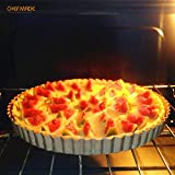 CHEFMADE 9.5-Inch Round Tart Pan with Removable