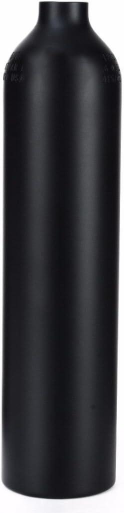 Gurlleu Aluminum CO2 Bottle 4500 PSI Paintball HPA Air Tank for PCP Game(Empty Bottle)
