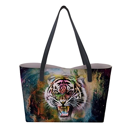 Sac L Nopersonality Tiger Galaxy femme à main Hq7w6x
